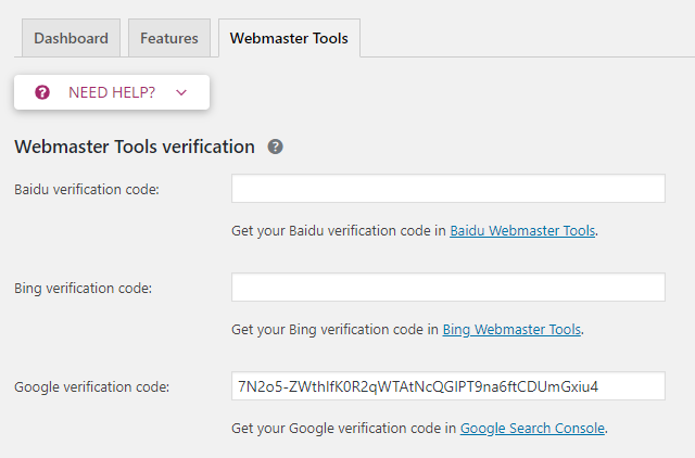 gsc verified yoast seo
