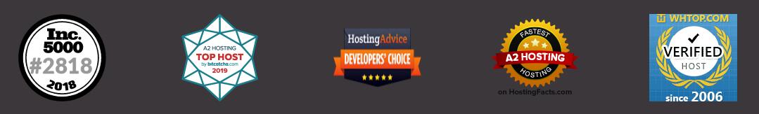 a2hosting achievements
