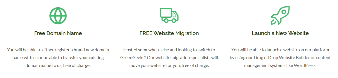greengeeks hosting whats included
