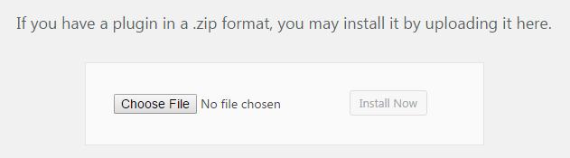 upload plugin wordpress zip