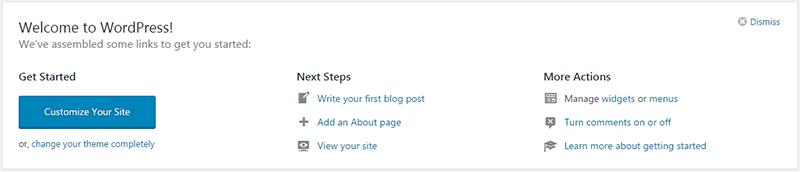 wordpress installed ftp