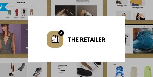 the retailer woocommerce theme