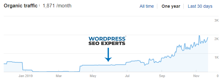 case study seo wordpress