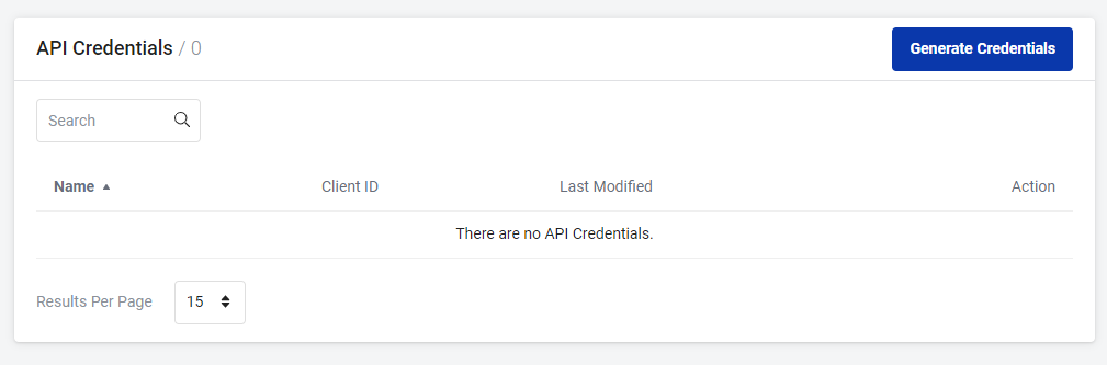 generate api creds stackpath
