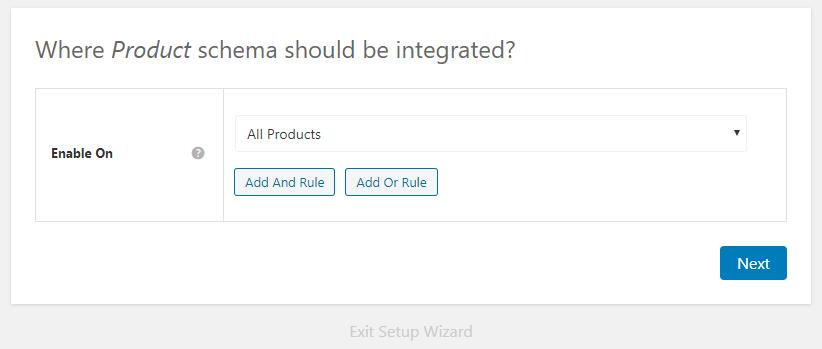 product schema