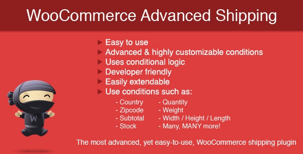 WooCommerce Advanced Shipping plugin