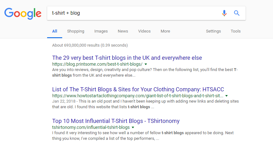 blogger outreach ecommerce seo