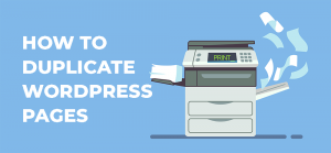 how to duplicate wordpress pages