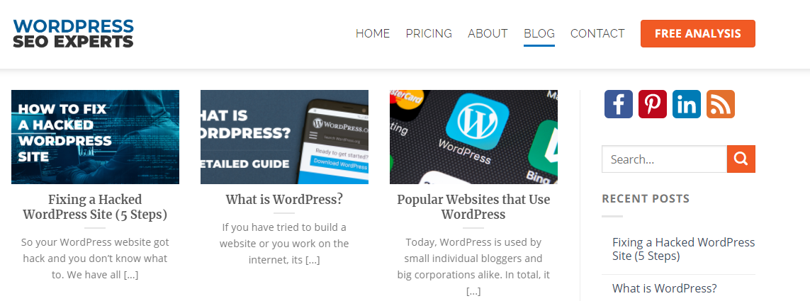 wordpress seo experts blog